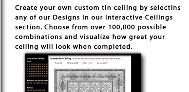 Tin Ceiling Background